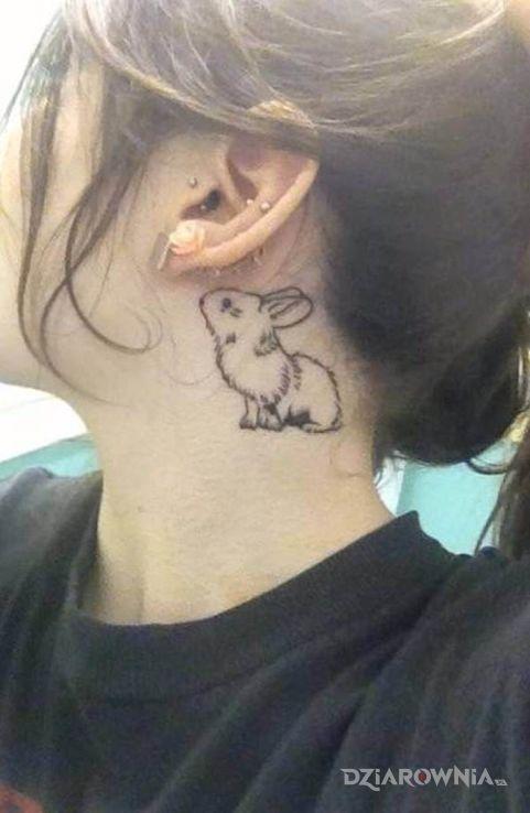 Tatuaż króliczek - zwierzęta