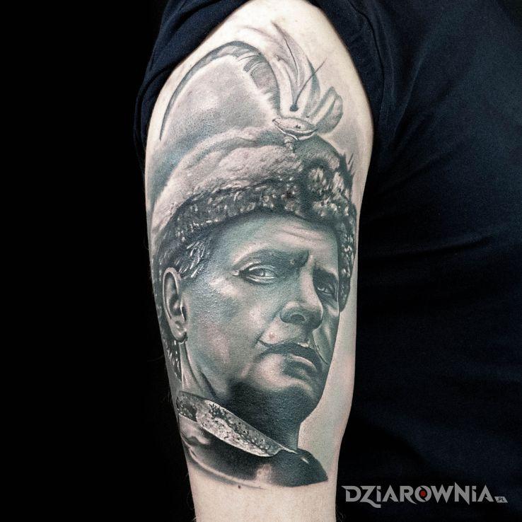 Tatuaż pan wołodyjowski - patriotyczne