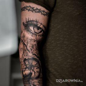Oko część rękawa