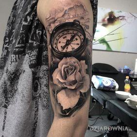 Kompas i kwiat