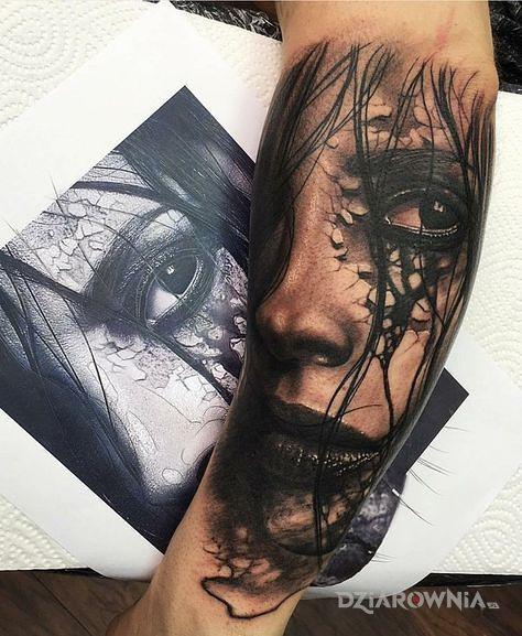 Tatuaż dobry portret - twarze