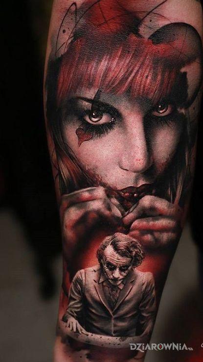 Tatuaż Harley Quinn Autor Prince Dziarowniapl