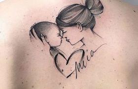Tatuaż idealny dla mamy