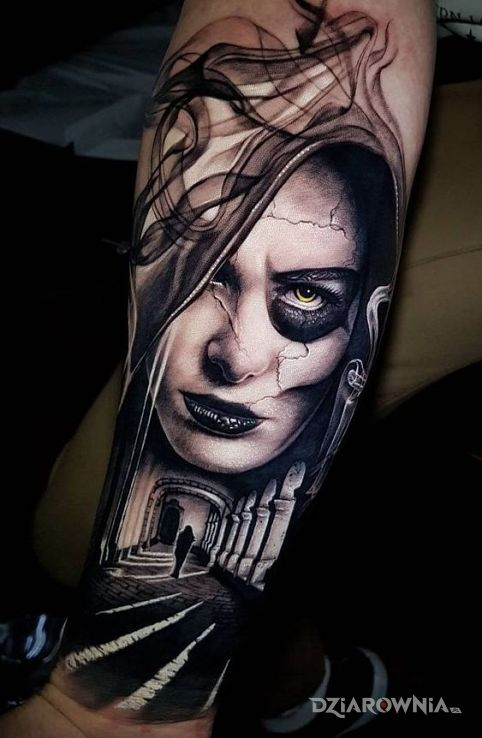 Tatuaż kobieta - twarze
