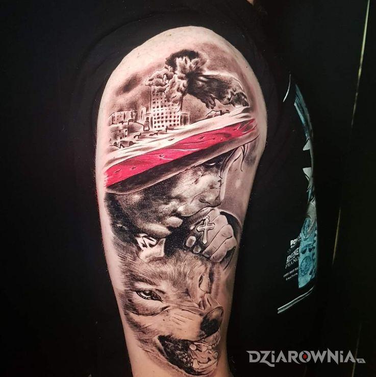 Tatuaż patriotyczny - twarze