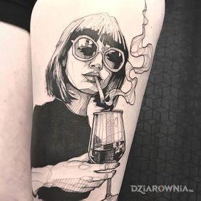 Wino i joint :)