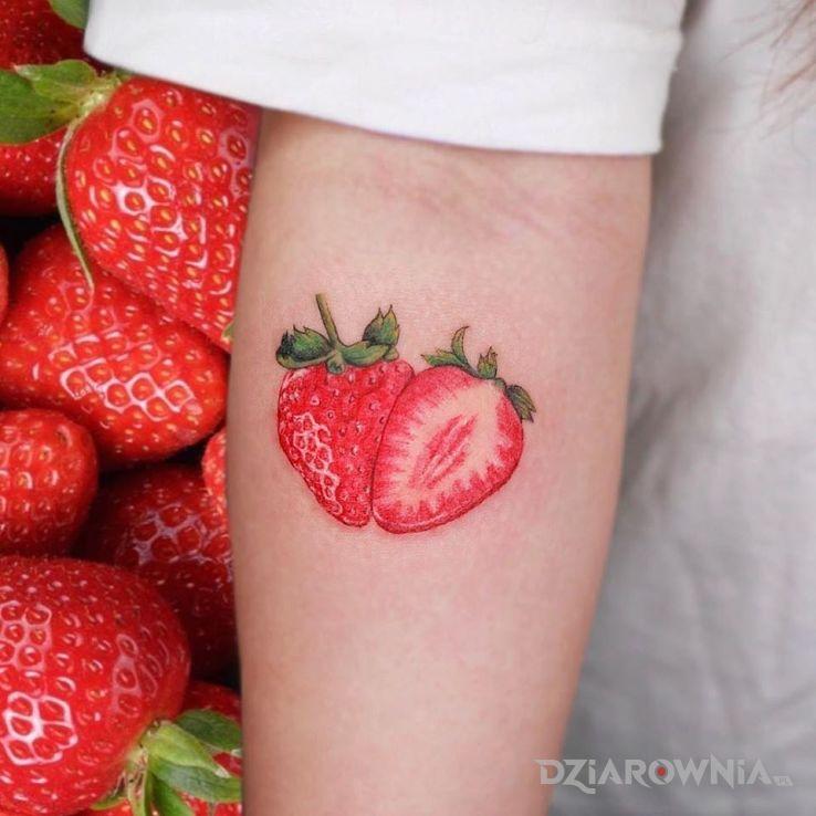 Tatuaż truskaweczka - pozostałe