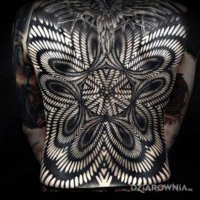 Wzór wyginający czaszkę