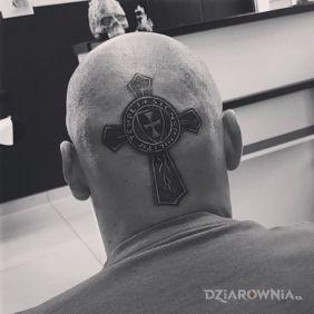 Militarny krzyż Templariuszy