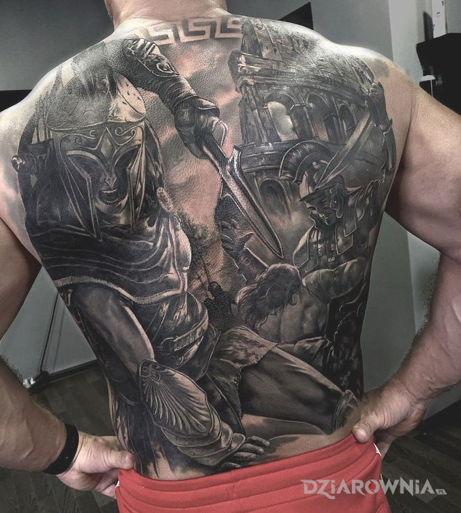 Tatuaż legioniści - realistyczne