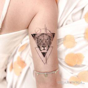 Lew w trójkącie