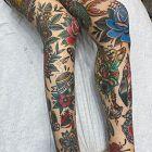 Amerykański Tradycyjny tatuaż
