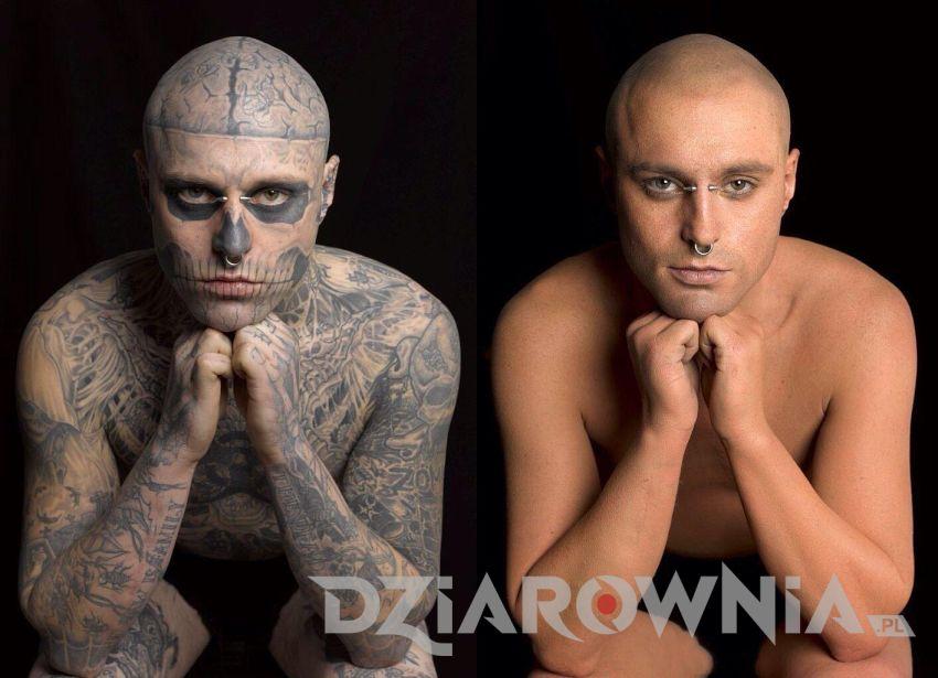 zombie boy bez tatuaży