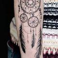 Wycena tatuażu - Wycena tatuażu - łapacz snów