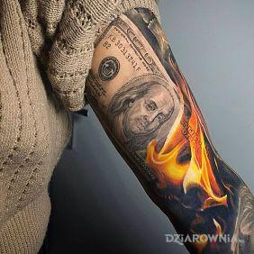 Płonie kasa