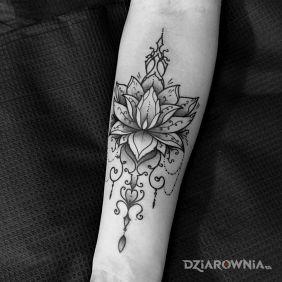 Kwiat / Lotos / Ornamenty