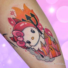Hello Kitty / Harō Kiti / Ogień / Kościół