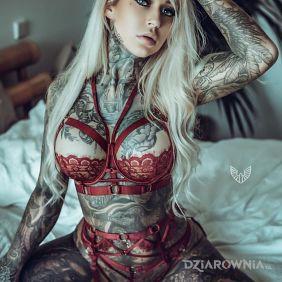 Wiecej tatuazy nie miala xd