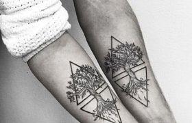 Ciekawe wzory tatuaży dla par zamiast oklepanych serduszek