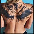 Wycena tatuażu - Proszę o wycenę skrzydeł na plecach