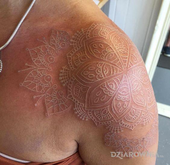 Tatuaż mandala numer 3 - mandale
