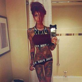 Calutka w tatuażach