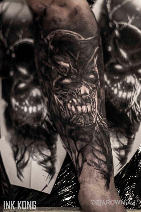 Tatuaż demon - postacie