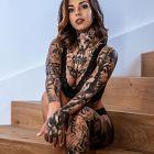 W tatuażach cała