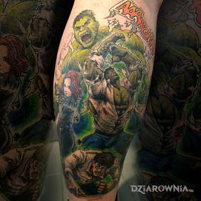 Hulk Color Comics