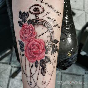 Zegar Róże