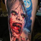 Zakrwawiony wampir