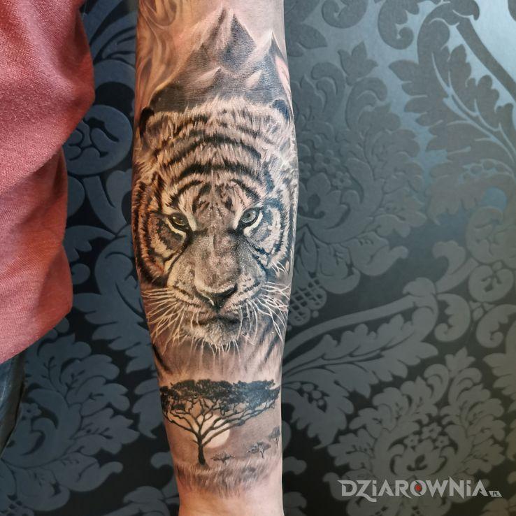 Tatuaż tygrys - pozostałe