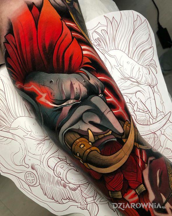 Tatuaż troll - postacie
