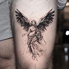 Anielica w szacie