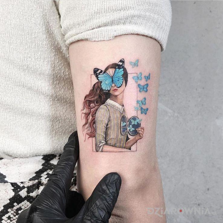 Tatuaż motylki - postacie