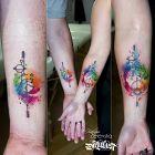 Tatuaż dla pary