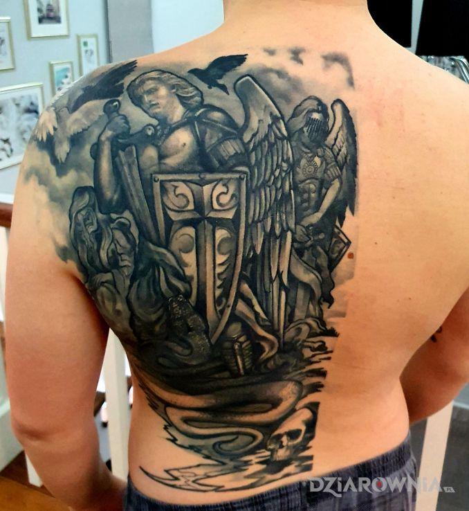 Tatuaż michał archanioł - postacie