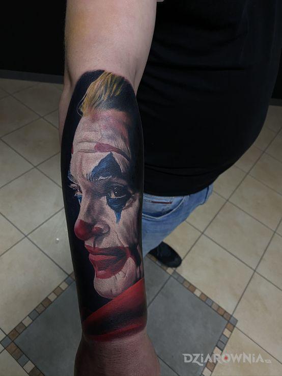 Tatuaż joker - twarze