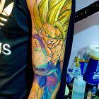 Dragon Ball Son Gohan SSJ2 (One-hand Kamehameha)