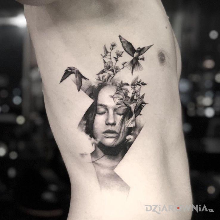 Tatuaż ulotne mysli - zwierzęta