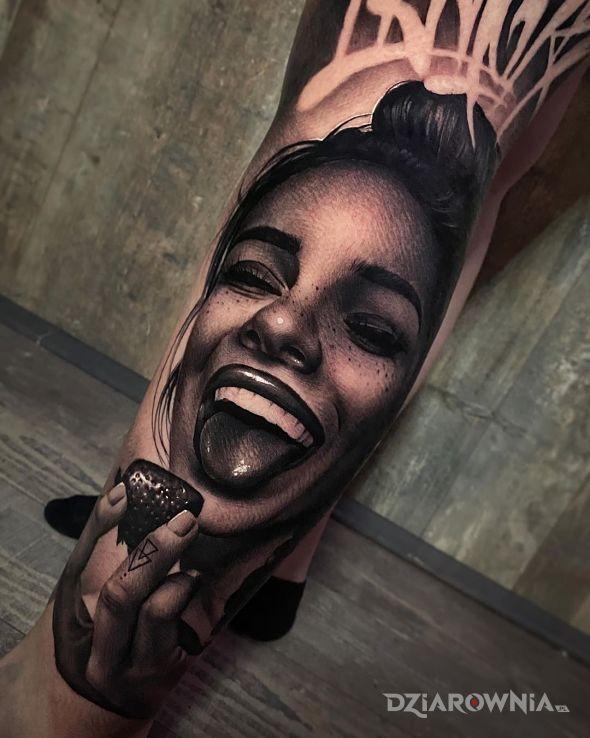 Tatuaż pozytywnie - twarze
