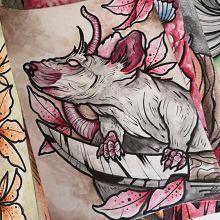 Logo Artysty Tatuażu Alex Tattoo and art