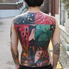 Artystyczny tatuaż