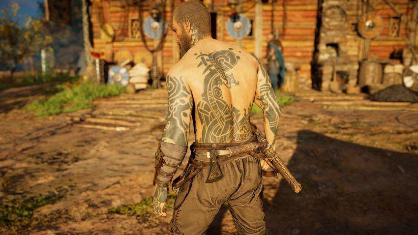 tatuaże dostępne w  Assassin's Creed Valhalla