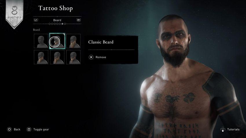 tatuaże wikingów w Assassin's Creed Valhalla