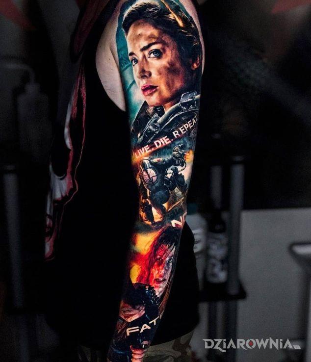 Tatuaż na skraju jutra - twarze