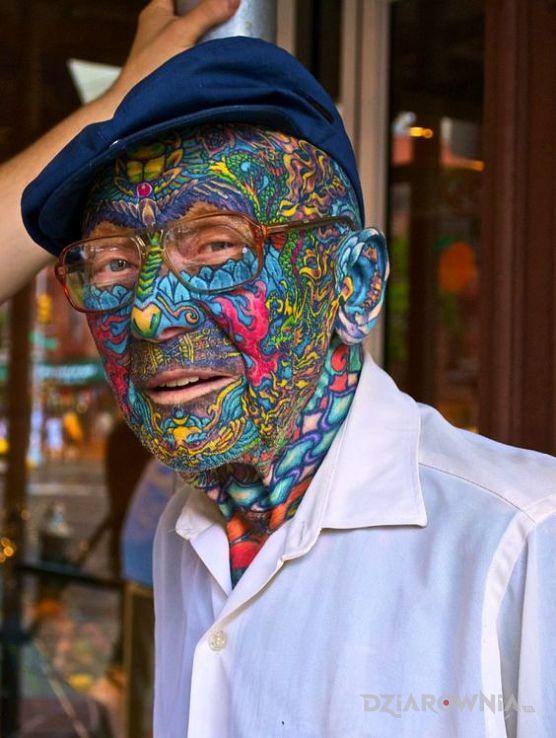 Tatuaż pozytywny dziadek - pozostałe
