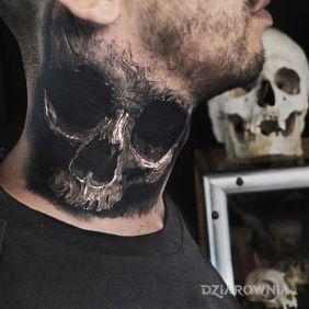 Realistyczna czaszka