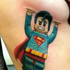 Superman i cycek