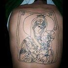 Maryja i dzieciątko Jezus :)